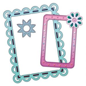 Spellbinders Scalloped Edge Frame Die