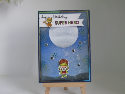 Kim Styles Cards - Super Hero
