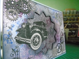 Kim Styles Cards Vintage Car