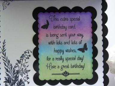 Fern Birthday| Kim Styles Cards