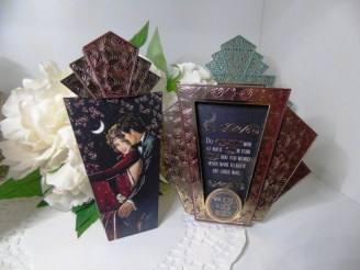 KSC - Hunkydory Deco Shimmer Card & Bookmark