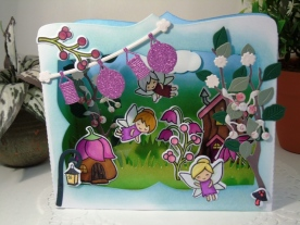 Craft Buddy Designer - Fairy Pop Up Box