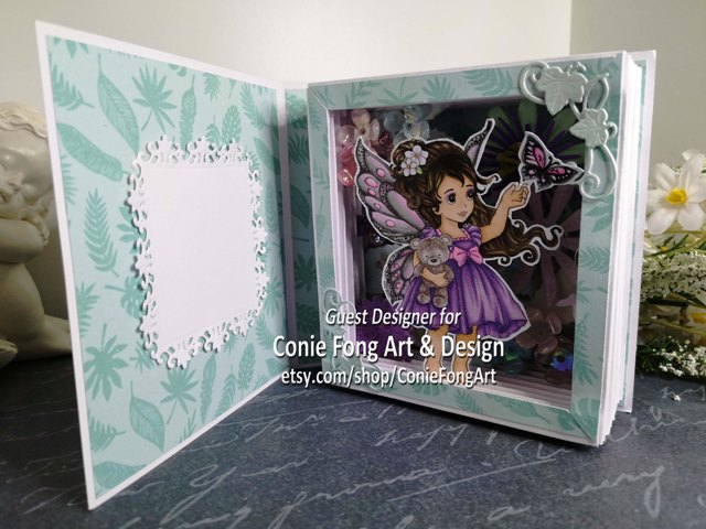 Butterfly Kisses 3D Book Card GDT